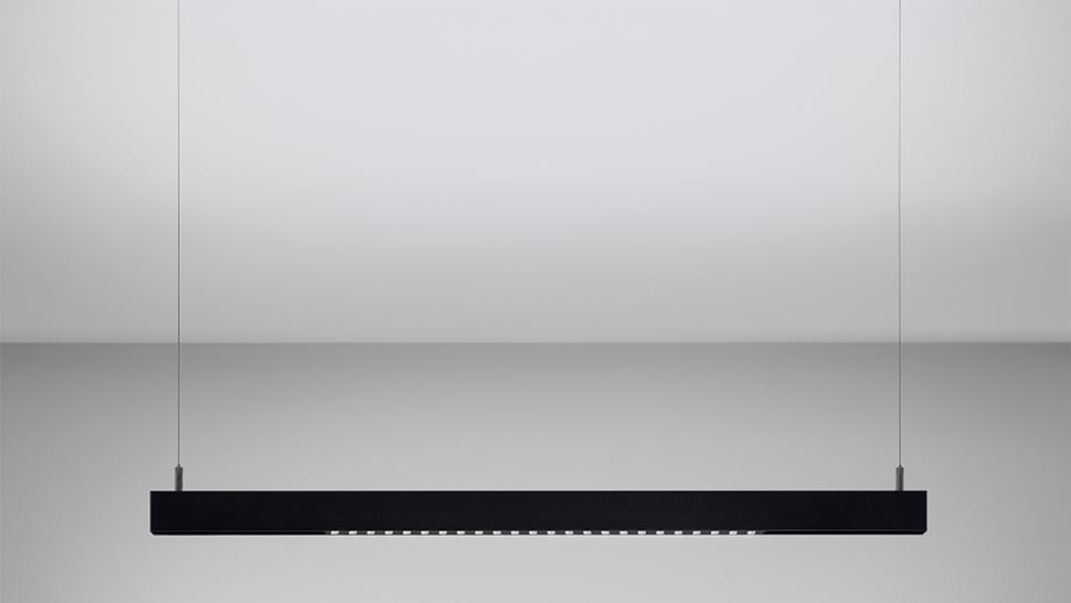 Track v high pendant indirect reggiani illuminazione