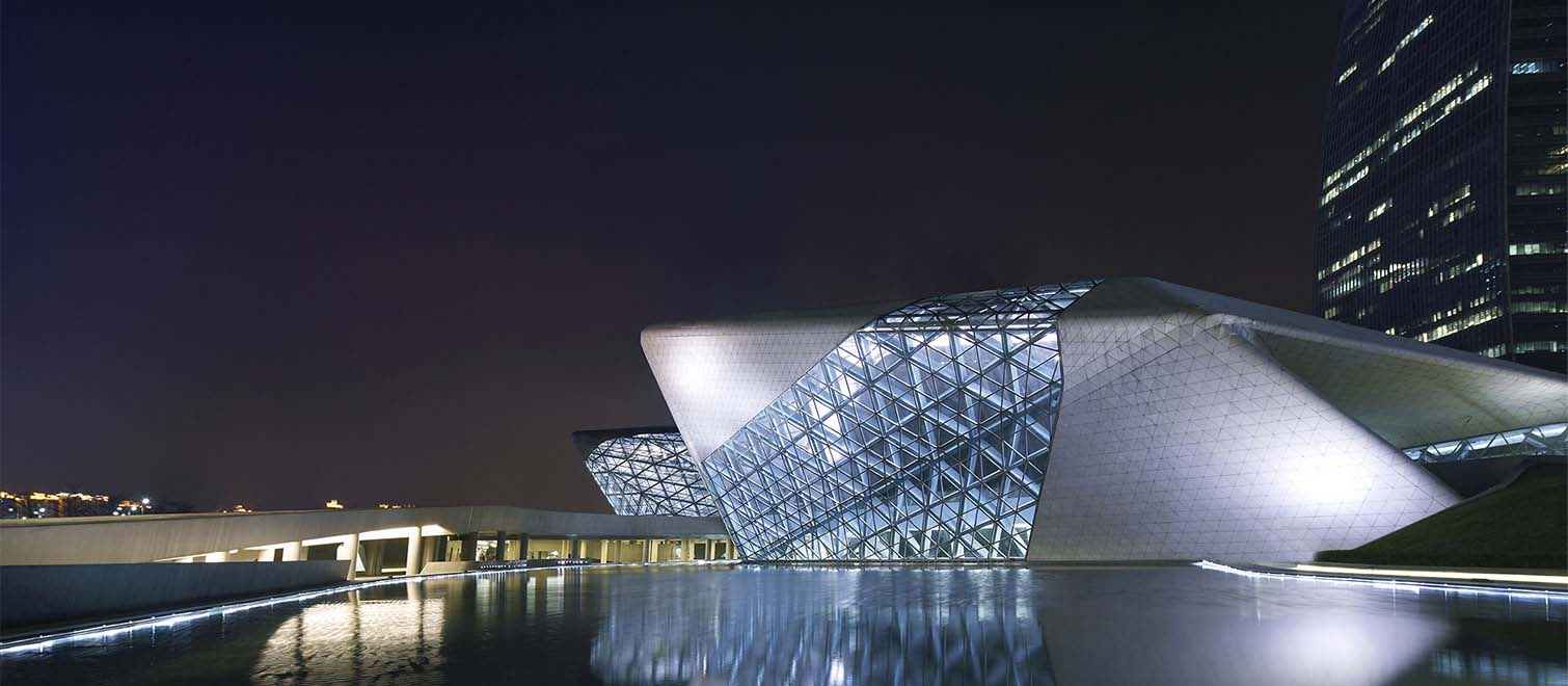 Guangzhou Opera House Reggiani Illuminazione