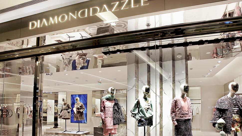 Diamond dazzle illuminating luxury reggiani illuminazione