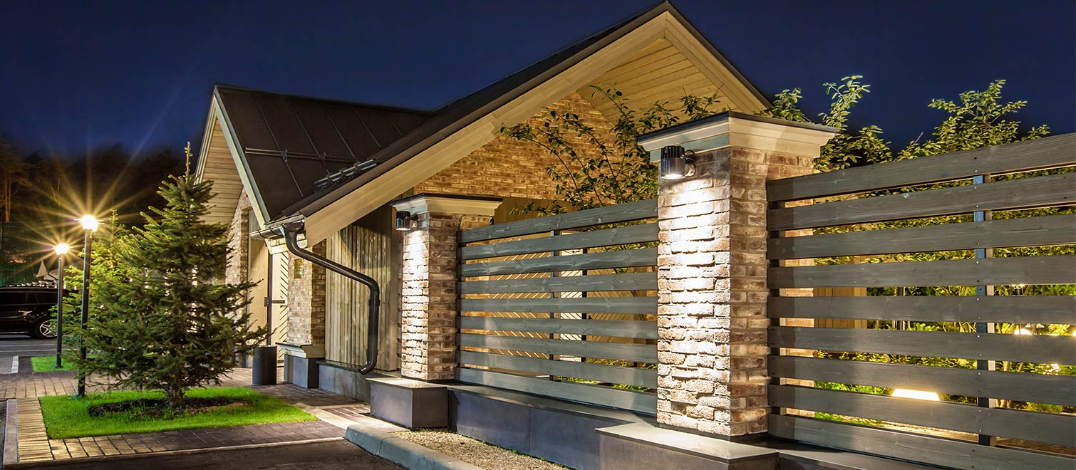 Zastava restaurant reggiani illuminazione for Illuminazione esterna casa